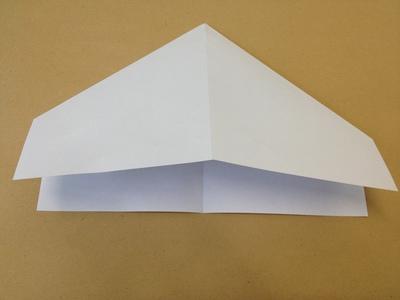 Perfekter Papierflieger Anleitung Zum Basteln